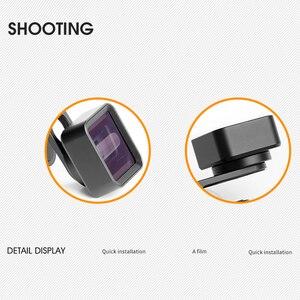 Image 4 - Geniş ekranlı cep telefonu anamorfik Lens geniş açı klip Film bozulma kamera Lens Iphone Samsung Hwawei akıllı telefon
