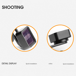 Image 4 - Widescreen Mobile Phone Anamorphic Lens Wide Angle Clip Film Distortion Camera Lens For Iphone Samsung Hwawei Smart Phone
