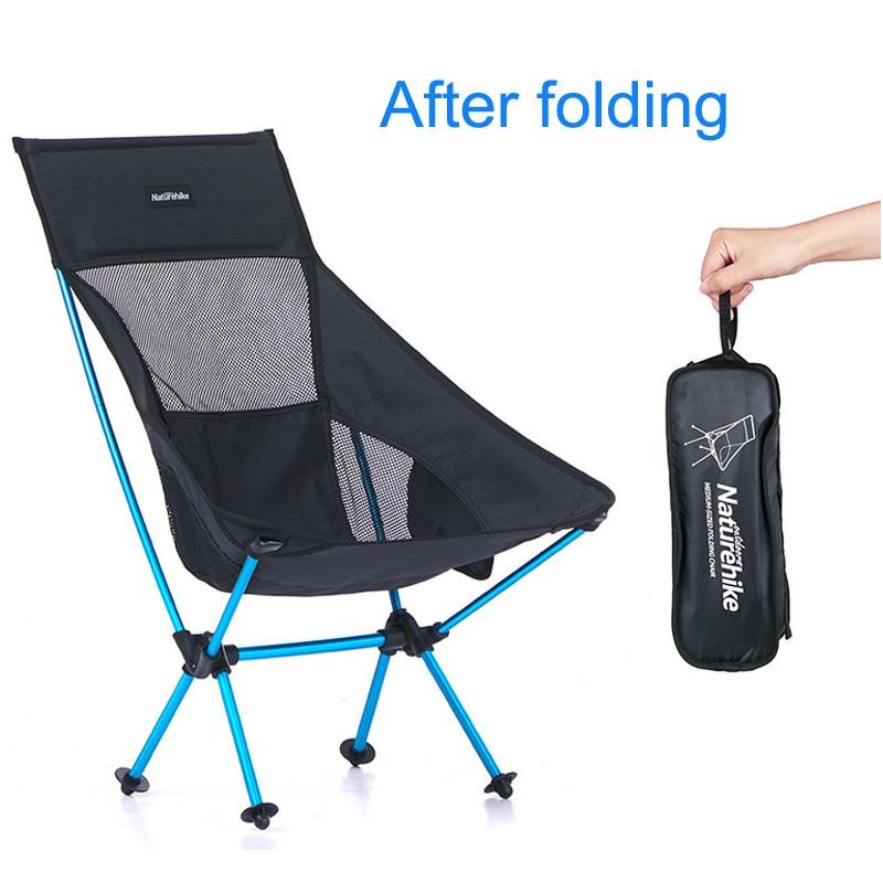 Last One Cheap Folding Beach Chair Ultralight Camp Chair Moon Chair Breathable Mesh Fishing Chair 600D Oxford  Aluminum Alloy