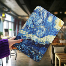 QIJUN Case For Samsung Galaxy Tab A 9.7'' T550 T555 T550C Magnetic Stand PU Leather Smart Tablet Cover For Tab a 9.7 Funda Coque