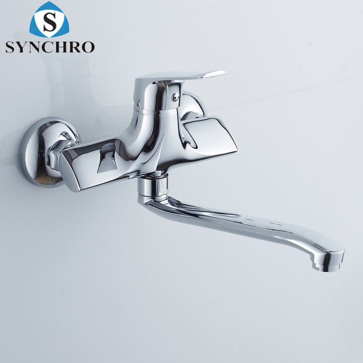 New Style Wall-in Kitchen Faucet Mixing Valve Hot And Cold Faucet Kitchen Cold Balcony Laundry Tap