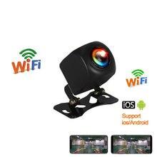 Беспроводная Автомобильная камера заднего вида, Wi-Fi, камера заднего вида, Dash Cam, HD, ночное видение, мини-корпус, тахограф для iPhone и Android