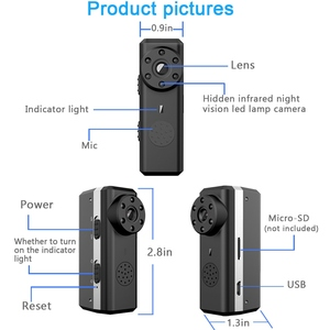 Image 2 - Ztour Hd Smart Mini Wifi Camera Ai Human Detection Ip/Ap Ali Cloud Storage Ir Nachtzicht Beveiliging Max 128G