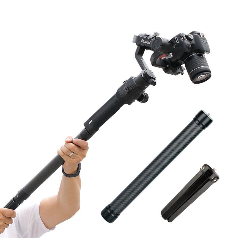 Universal Handheld Gimbal Stabilizer Extension Rod For DJI Ronin S SC/Zhiyun Crane 2 Webill Feiyu Tripod OSMO Mobile 3 Accessory