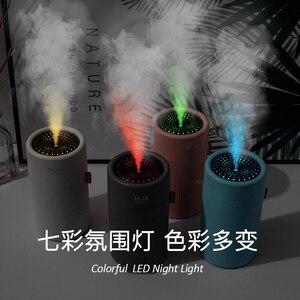 Image 3 - Umidificador de ar sem fio, umidificador de ar, difusor de aroma portátil usb, recarregável, óleo essencial, 2000mah