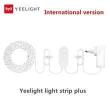 Yeelight tira de luces RGB de hasta 10M y 16 millones de colores, tira de luces con extensión, funciona con la aplicación de hogar inteligente, yeelight plus