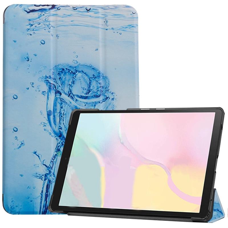Ice rose Navy Case ipad Pro 11 2021 A2301 A2459 case PU Leather Tri fold ebook Case Tablets Sleeve