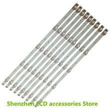 9ピース/ロット康佳55インチ使用kktv K55 LED55UA8100 CC02550D485V10 55E20液晶バー100% 新
