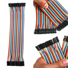 Соединительный кабель dupont 1p для arduino 40 шт 20 см