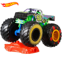 1:64 Hot Wheels Monster Tracks Diecast Car Toys Model Collection Trucks Assortment Metal 2020 Toys for Children Boys Kids Gifts