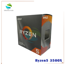 AMD Ryzen 5 3500X R5 3500X 3.6 GHz Six Core Six Thread CPU Processor 7NM 65W L3=32M 100 000000158 Socket AM4 Come with cooler