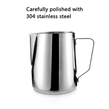 Mug Coffee-Cup Milk-Latte-Jug Pitcher Stainless-Steel Craft 600ml Frothing