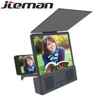 8,5 дюймов 3d мобильный увеличитель для экрана телефона с Bluetooth динамиком amplificador pantall para celular lupa para ceular усилитель