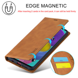 Image 2 - Luxury Case For Samsung Galaxy A21S Case Leather Flip Wallet Magnetic Card Bags Case Samsung Galaxy A21S Phone Cover Stand