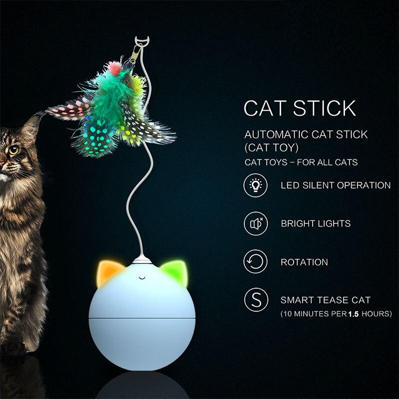 Creative Electric Tumbler Cat Toy