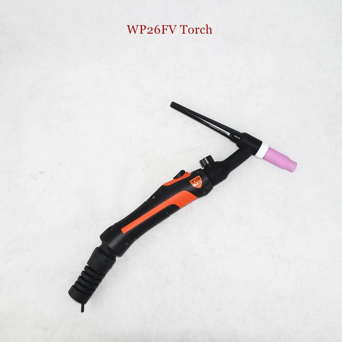 Profesional Wp26 Tig Torch Gtaw Gas Tungsten Arc Welding Gun Wp26fv Argon Air Cooled Gas Valve Remote Control Tig Welding Torch Obor Las Aliexpress