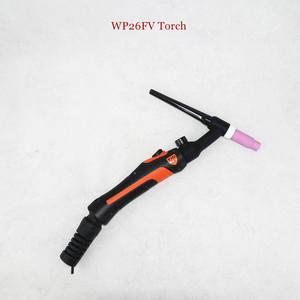 Image 4 - Profesyonel WP26 TIG meşale GTAW gaz Tungsten ark kaynak tabancası WP26FV Argon hava soğutmalı gaz vanası uzaktan kumanda TIG kaynak meşale