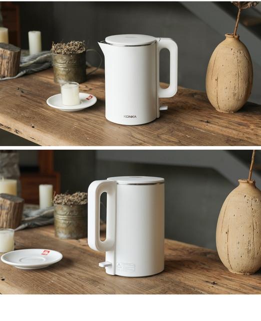 Konka electric kettle fast boiling