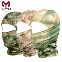 Tactical Military Balaclava Cap CP Camouflage Motorcycle Face Mask Cover Breathable Moto Motocross Cycling Army Biker Head Hat
