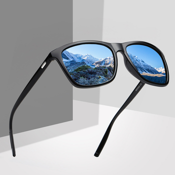 цена на Classic Retro Polarized Sunglasses Women/Men Brand Design Square Driving Sun Glasses Shades Eyewear Oculos De Sol Gafas