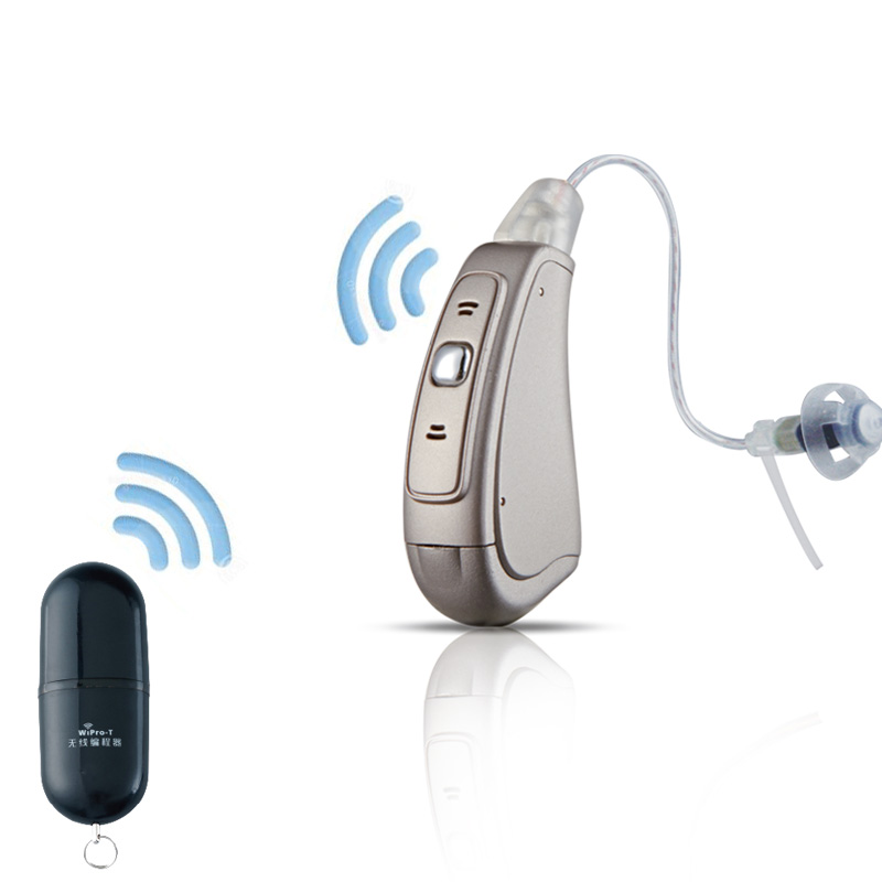 No Need HIPRO DIY Programmable Bluetooth Wireless Fitting Function 20 Channels 20 Bands 4 Memories Digital RIC Hearing Aid