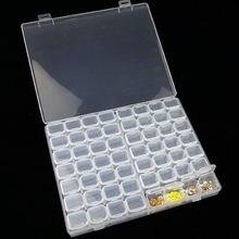 56 treliça desmontável diamante bordado acessórios caixas de pintura diamante ponto cruz casos armazenamento organizador casa armazenamento