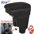 Для Toyota Yaris подлокотник коробка для Toyota Yaris hybrid автомобильный подлокотник 2020 2019 2015-2021 модифицированные детали интерьера ящик для хранения USB