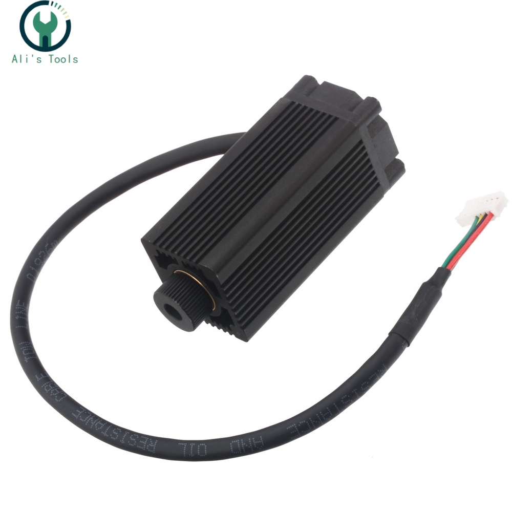 1500mw 405nm Fiber Laser Head Tube Module For Mini Slot Machine Cut Engraver Accessory DIY Tools Laser Module Head
