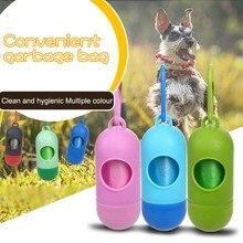 Dog Waste Poop Bags Pet Bag Dispenser for Dogs  Protable Holder Garbage Dispensers Supplies