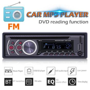 ALLOYSEED 8169A 1 Din Bluetooth Car Stereo MP3 Player 1din Autoradio CD VCD DVD AUX USB FM Radio Auto Audio Car Player Head Unit image