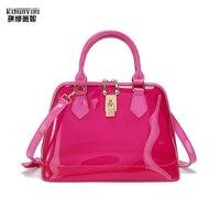 KIHUN women handbag fashion candy handbags for girls 2019 new top handle bags high quality hand bag mini female purse shell bag
