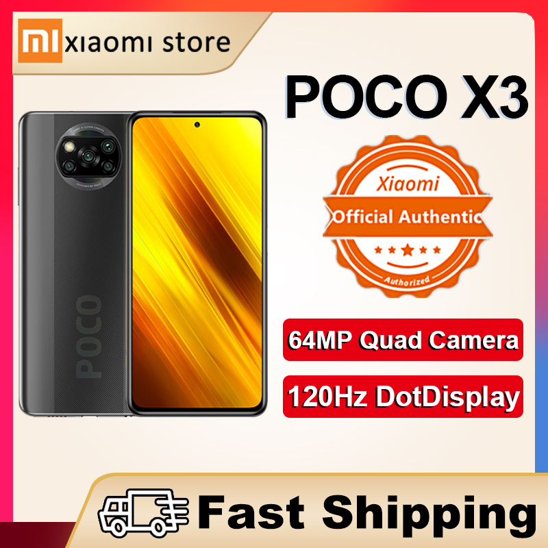 Смартфон Xiaomi POCO X3, NFC глобальная версия 6 ГБ 128 ГБ, Snapdragon 732G 64 мегапиксельная четырехъядерная камера 6,67 дюйма, DotDisplay 5160 мАч, Новинка|Смартфоны|   | АлиЭкспресс