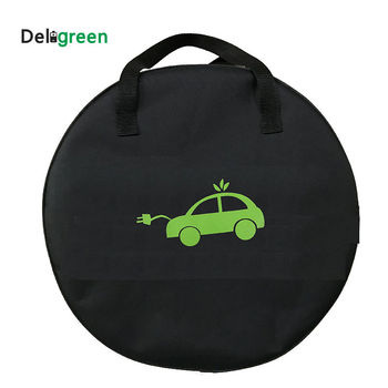 EV Bag For Electric Car Vehicle EVSE Portable SAE J1772 IEC62196 Type 2 EV Cable Charging Equipment Container Deligreen image