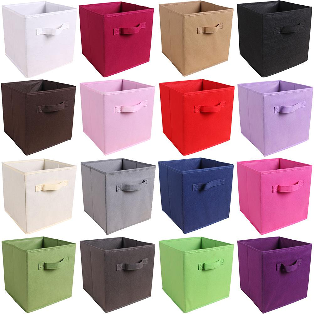 Foldable Storage Box Organizer Non-Woven Fabric Storage Boxes For Toys Clothes Organizer Large Capacity Home Storage Organizer