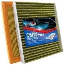 Bi trust Juego de filtros de aire para motor y cabina, para Camry, Avalon, Lexus, Es350, Highlander, Rav4, CA12377,17801 25020,17801 F0050,87139 0E040