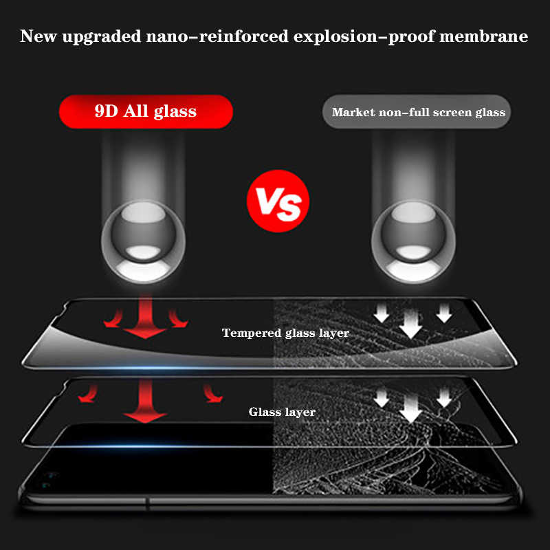 9D Kính Cường Lực Cho Huawei Honor V30 V20 20i 20 10i 20 Pro Full Bao Da Bảo Vệ Cho Honor 9 10 Lite 9i 10i Tấm Bảo Vệ Màn Hình