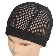 5 шт большая сетка купольный парик шапки волосы сетки дыра черная
