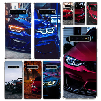 Blue Red for Bmw Phone Case Cover For Samsung Galaxy S20 Ultra S10E S9 S8 S7 S6 Note 10 9 8 J4 J6 J8 Pro Plus + Coque image