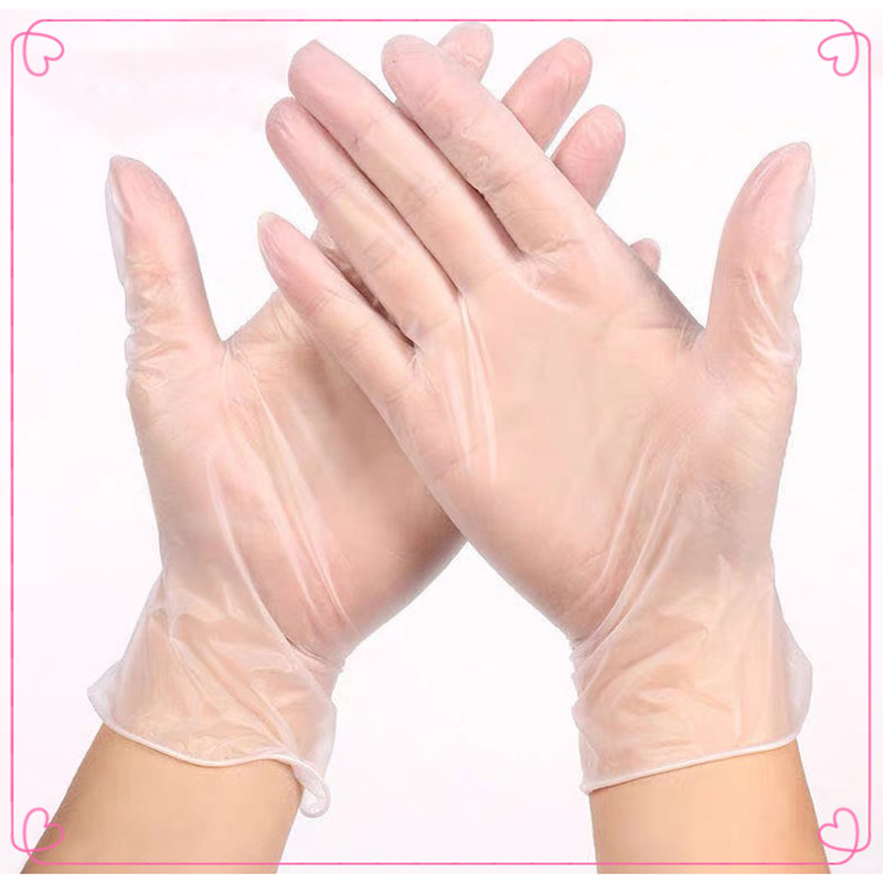 100 Pieces / Batch Of Nitrile Gloves, Food-grade Waterproof And Hypoallergenic Medical Disposable Work Safety Gloves, Universal