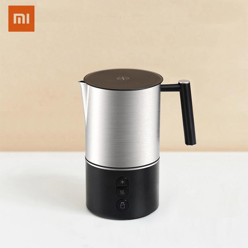 Xiaomi Scishare Electric Milk Foamer Bubble Coffee DIY Machine Latte Art Creamer Maker Warm Milk Cappuccino Frother Pitcher 220V