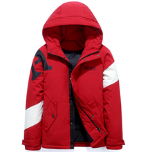 Teens Color matching Men #8217 s Down Jacket Stylish Male Down Coat Winter Thick Warm Man Clothing Brand Men #8217 s Apparel Warm Parka 1928 cheap JUNGLE ZONE Thick (Winter) L1928 REGULAR Casual zipper Full Letter Denim NONE Button Pockets Zippers Appliques Polyester