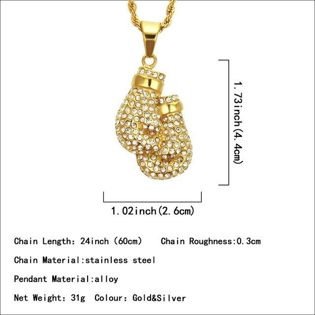 Xuanpai индивидуальное мужское ожерелье в стиле хип хоп европейском