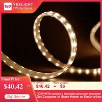 YEELIGHT 5m LED Smart Light Strip Color Temperature Adjustable Extendable Light Band Yeelight App Wifi Remote Control