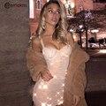 Сексуальное блестящее платье Ceremokiss с блестками, женские летние облегающие мини-платья без рукавов с V-образным вырезом для ночного клуба, бл...