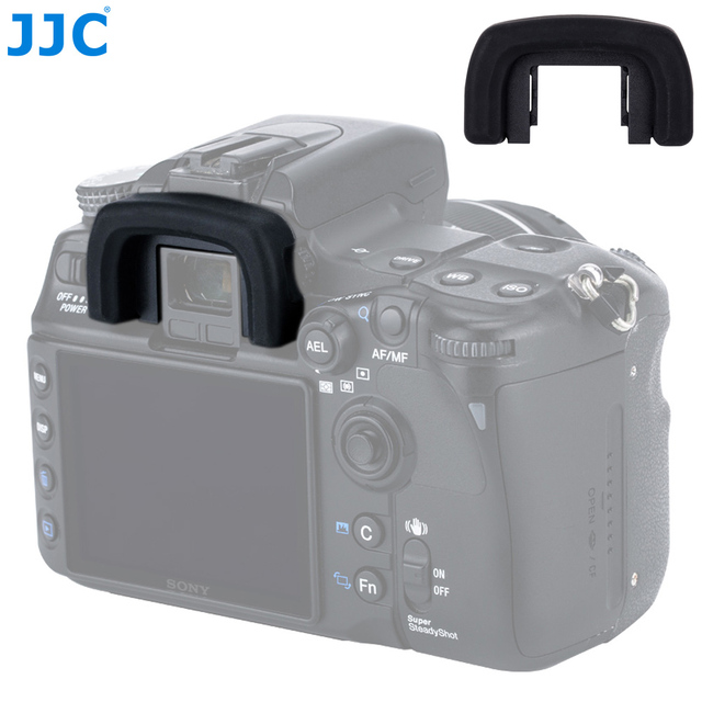 JJC Camera Viewfinder Eyepiece Protector EyeCup for SONY Alpha DSLR A100 A200 A300 A350 A700 replaces Sony FDA EP2AM Eyeshade
