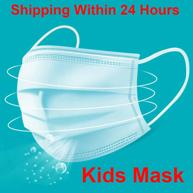 3 layer kids mask Anti-dust Mouth Face children Masks Protection flu mask Masque Disposable Masks for kids Masks For Children