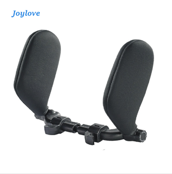 JOYLOVE Car Seat Headrest Car Neck Pillow Sleep Side Head Support With High Elastic Nylon Retractable Support On Sides фото
