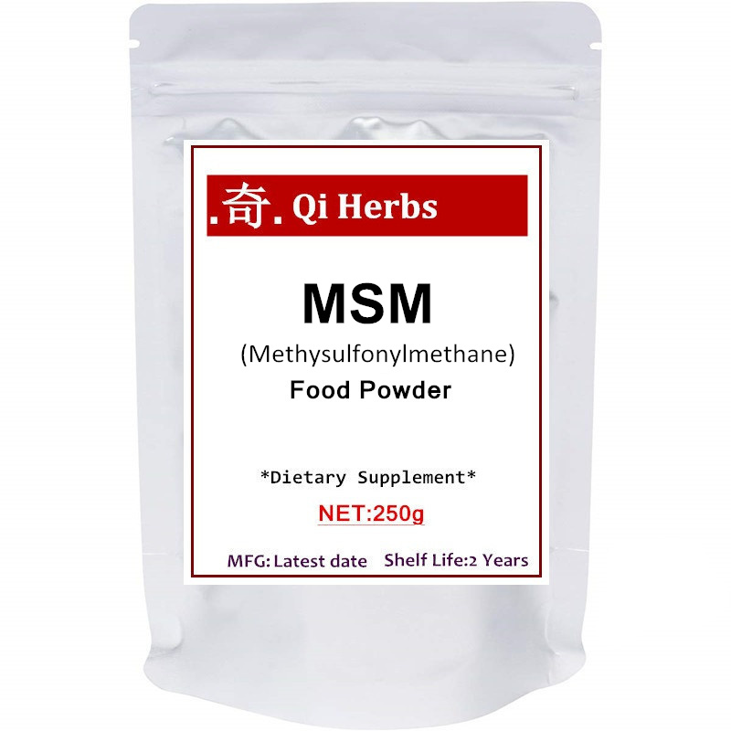 Pure MSM Powder (Methysulfonylmethane) , Strongly Supports Skin, Hair, Nails, Bones, Cartilage And Joint Health