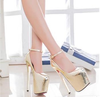 2020 spring new women's high-heeled shoes shallow mouth simple fine heel wedding shoes stage catwalk shoes nightclub size 34-43