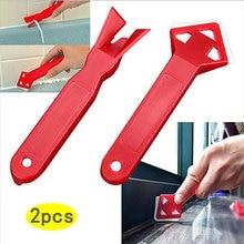 Plastic Scraper Beauty-Seam-Tool Remove-Residual Glass-Glue Negative-Angle